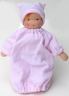 "6"" Teeny Baby Pattern ~ Joy's Waldorf Dolls $7.50"