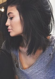 kylie jenner black hair - Google Search