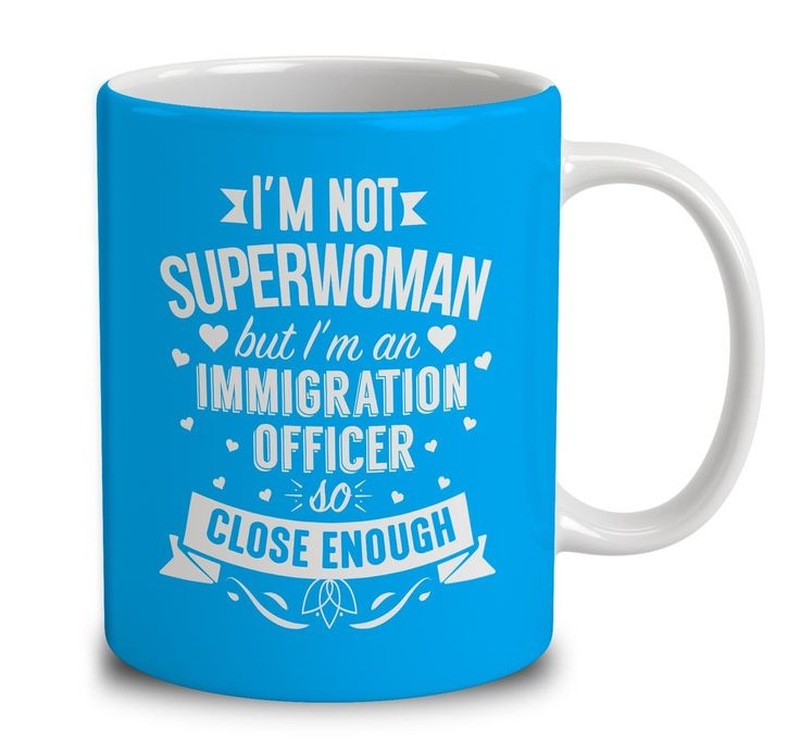 I'm Not Superwoman But I'm An Immigration Officer