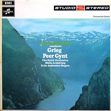 TWO 269 Grieg Peer Gynt Barbirolli Halle Orchestra 1969 NM/EX Studio2Stereo