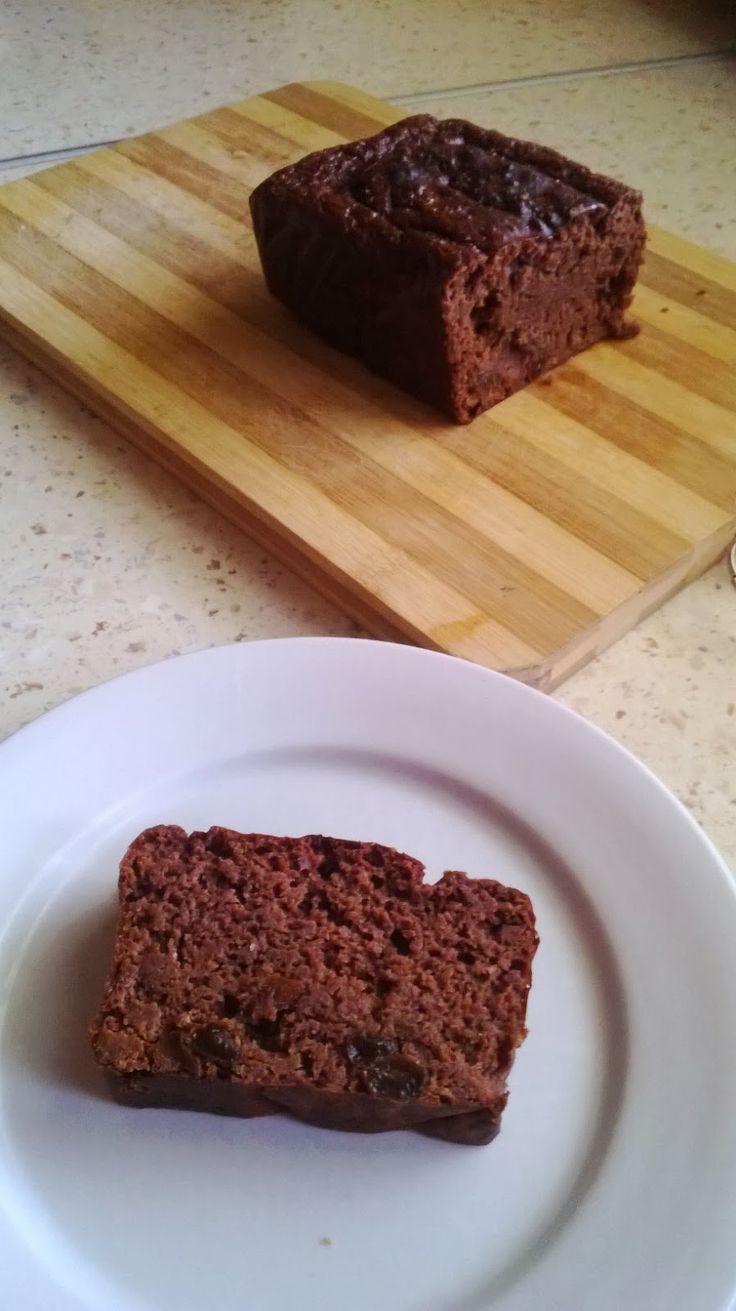 Czekoladowe ciasto fasolowe z kawową nutą