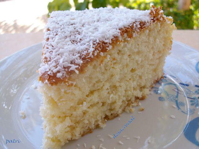 de sucre i sal: bizcocho de coco