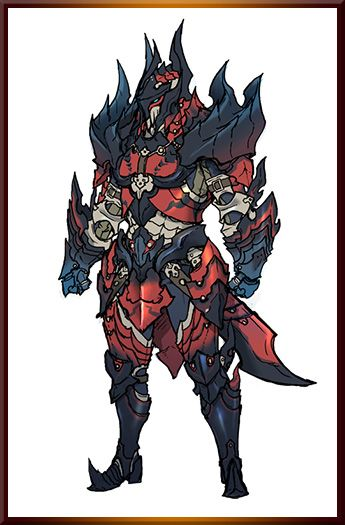 Glavenus/Dinovaldo male gunner armor set