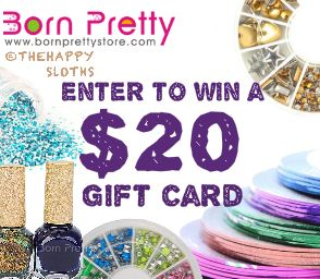 Giveaway: Enter to Win a $20 Born Pretty Store Gift Card!