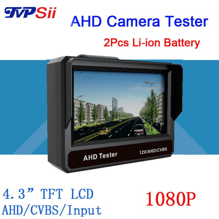 4.3 inch TFT LCD MONITOR COLOR Two in One1080P/ 960P/720P/ D1 AHD CCTV CAMERA TESTER Test Freeshipping #jewelry, #women, #men, #hats, #watches
