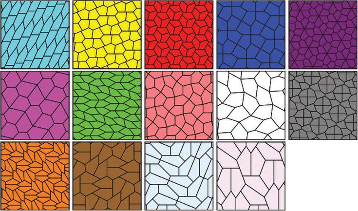 Открыт новый вид пятиугольников, покрывающих плоскость / Geektimes