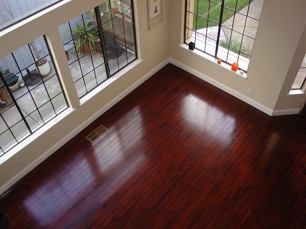 17 best images about grey and cherry on pinterest grey for Cherry wood flooring