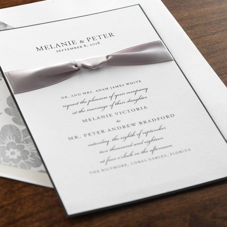 Solstice Wedding Invitation By Checkerboard Ltd