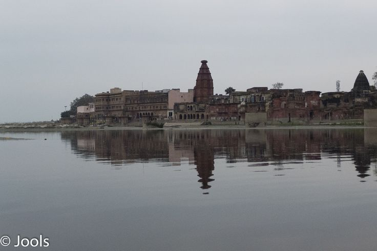 Banks of the Yamuna River, Vindravin, India