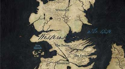 Explore a map of #Westeros on the #GameofThrones Viewers Guide.