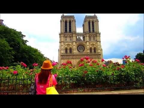 UN JOUR A LA NOTRE DAME DE PARIS avec tres jolie musique mp4