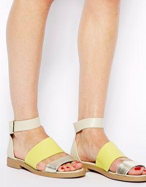 New Look Glide Minimal Flat Sandals