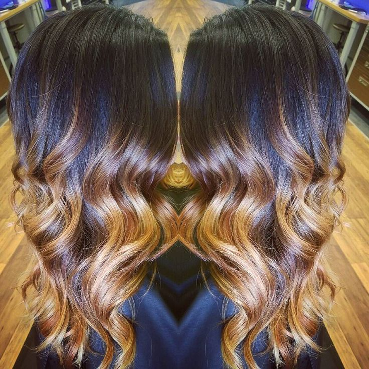 If this isn't the most gorgeous fall inspired balayage ombre I'm not sure what is! Color by Ashton :) #ombre #balayage #fallhaircolor #redhair #goldhair #copperhair #copperombre #goldombre #paulmitchell #thedemi #modernsalon #behindthechair #americansalon #hotonbeauty #olaplex #splathairdesign #splathair