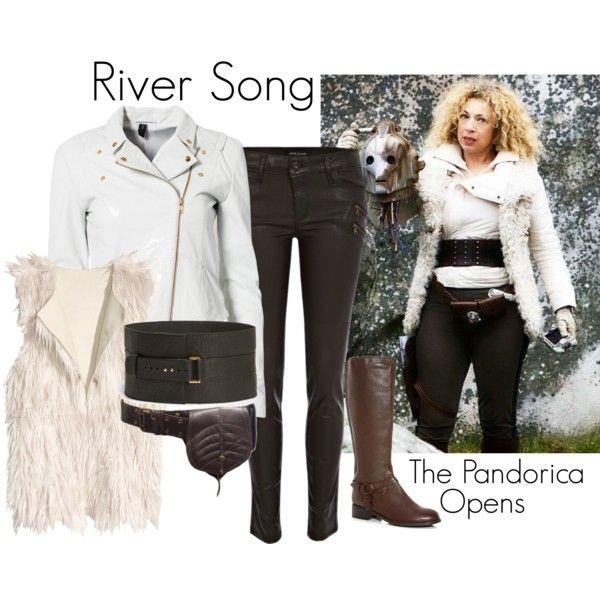 """River Song - The Pandorica Opens"" by ansleyclaire on Polyvore"