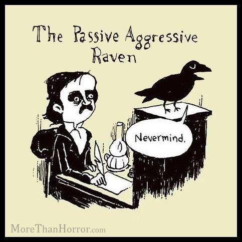 Book humor: Edgar Allen Poe