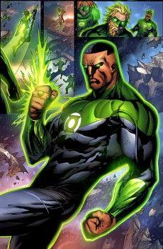 Fialkov Left DC Comics Over Plans To Kill Off John Stewart, DC's Black Green Lantern