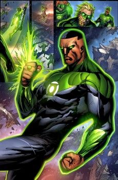 Fialkov Left DC Comics Over Plans To Kill Off John Stewart, DC's Black Green Lantern