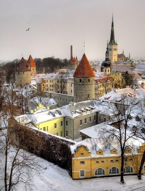 Tallinn, Estonia photo via maria  ♥