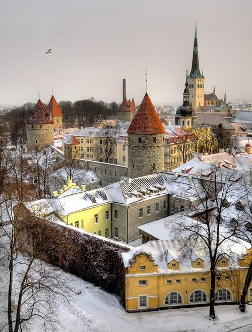 Ancient, Tallinn, Estonia photo via maria