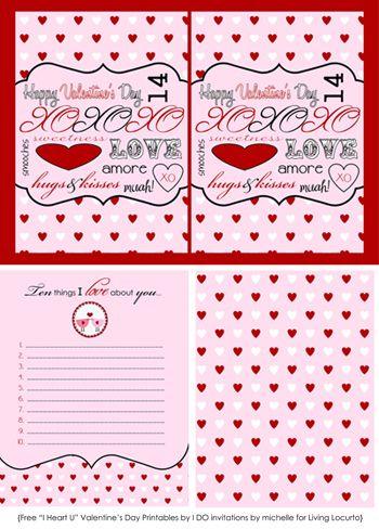 20 Sweet Valentine Printables! | I Heart Nap Time - How to Crafts, Tutorials, DIY, Homemaker