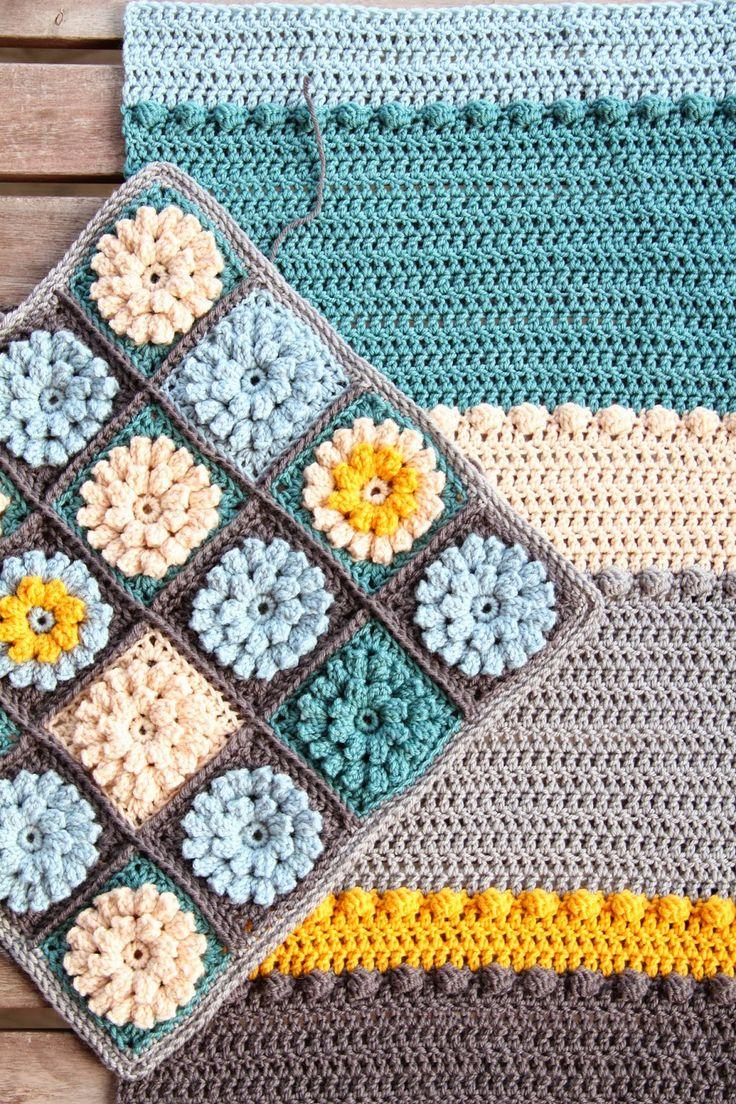 Beautiful #crochet cushion cover by crejjtion