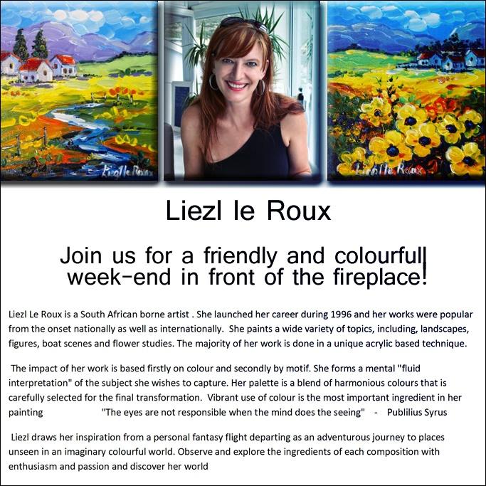 Liesl le Roux arttimes
