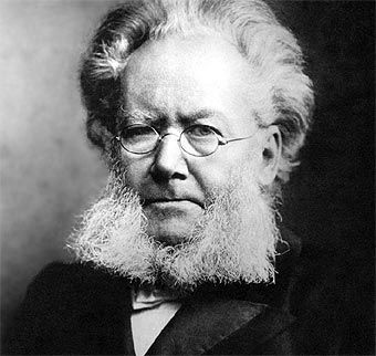 Henrik Johan Ibsen, famoso por su obra teatral Casa de Muñecas en la cual critica a la burguesia.