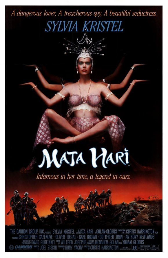 Sylvia Kristel Mata Hari Poster
