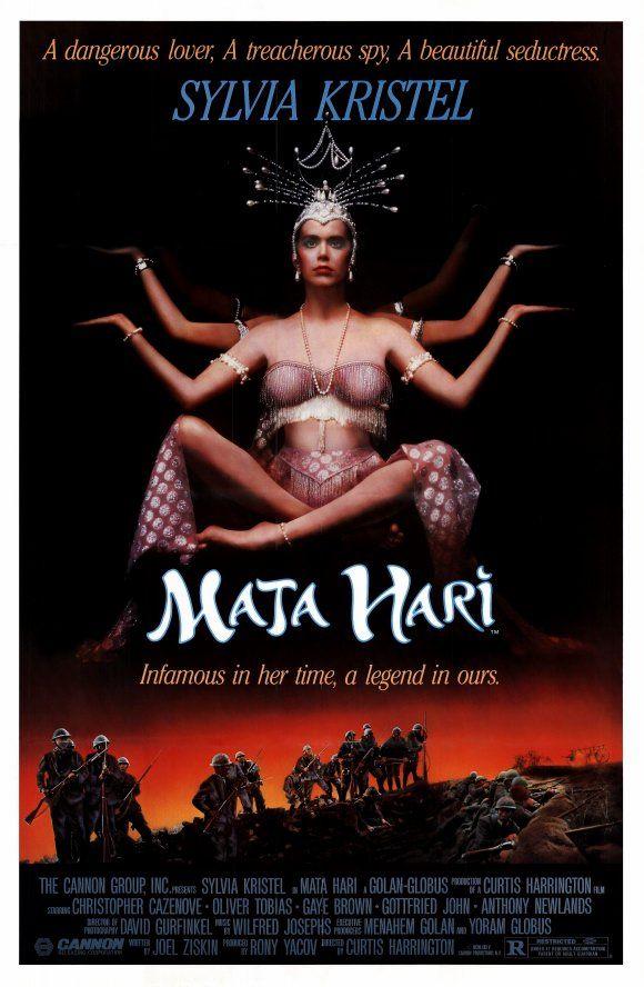 Mata Hari 1985 with Sylvia Kristel