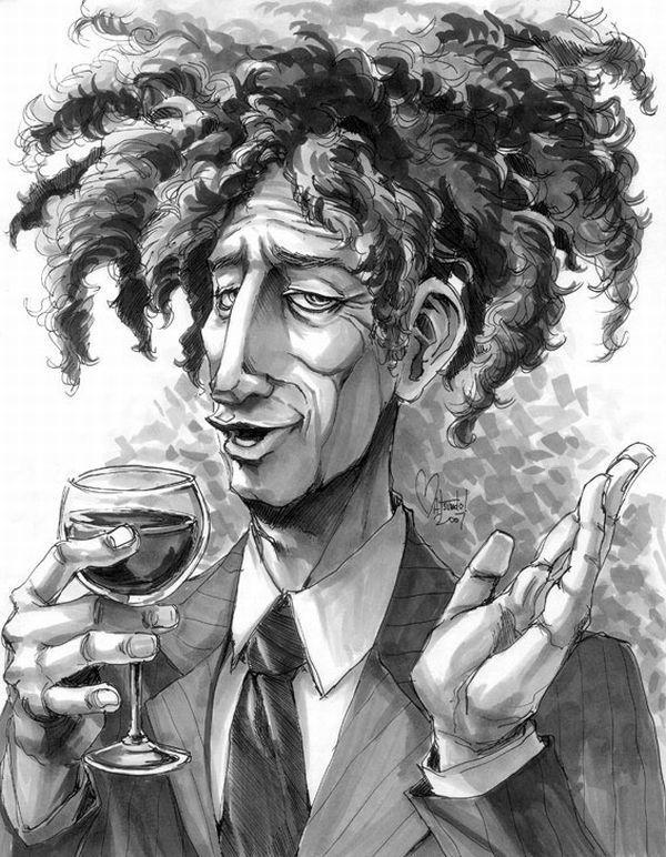 Kinda looks like Kramer, before he was racist.