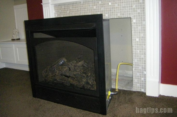 Adding a Ventless Gas Fireplace