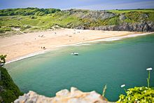 Barafundle Bay, Pembrokeshire Wales.  One of my favourite places.