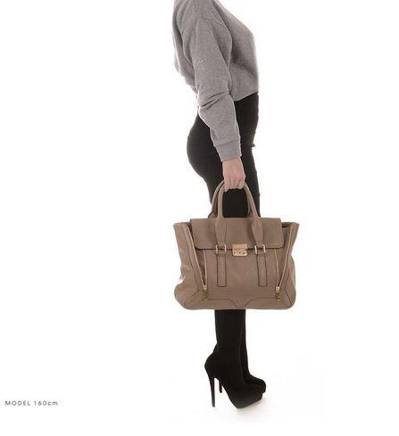 ROUVEN Taupe & Gold ARIZONA Handtasche #4