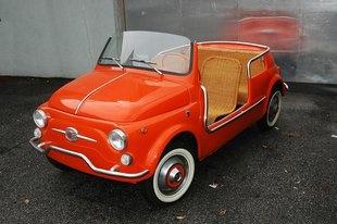 Fiat beach car- adorable!