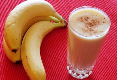 Gyömbéres narancs-banán smoothie