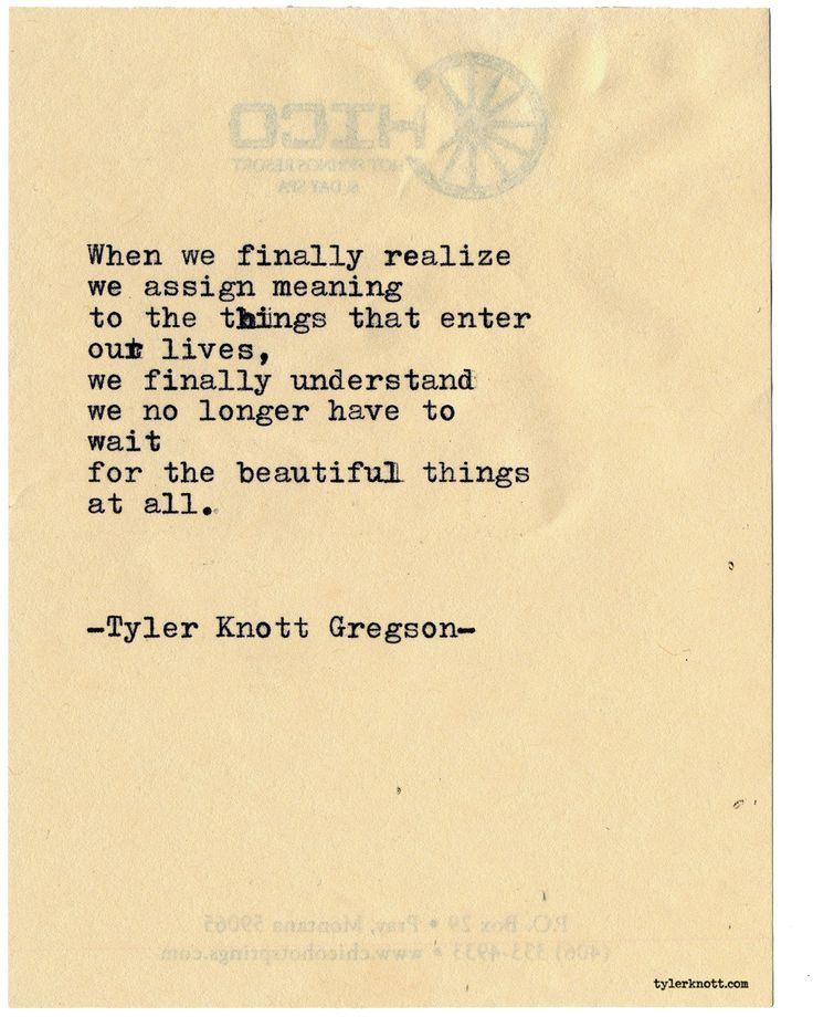 Typewriter Series #2148 by Tyler Knott Gregson