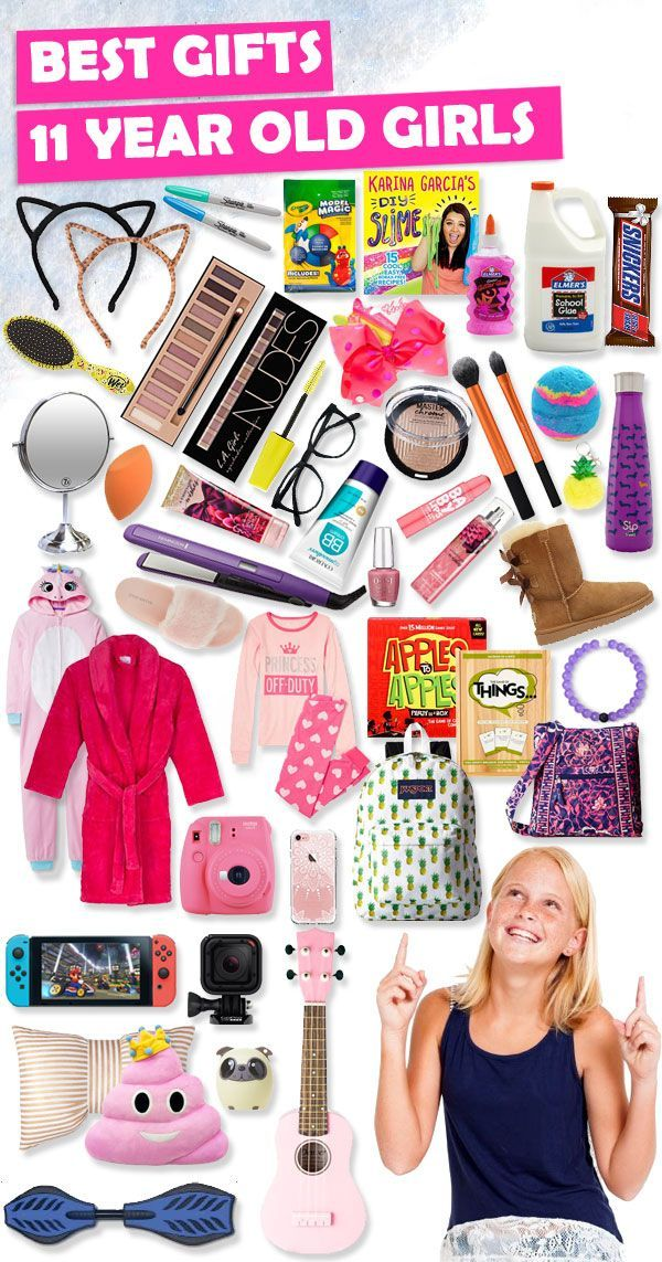 Tons of great gift ideas for 11 year old girls.