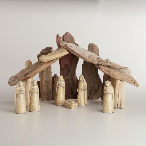 Love This Driftwood Nativity