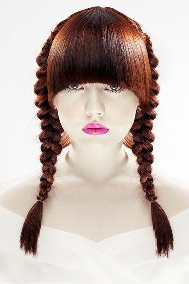 cute pigtail braids for women
