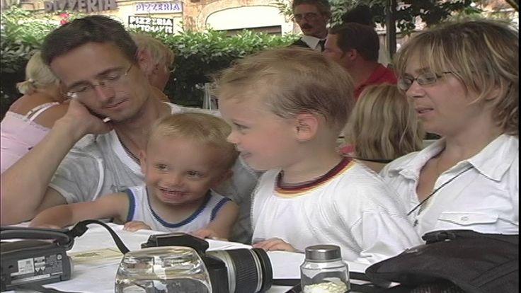 Barb & Ernie -Thomas, Julian,Charline & Tyee  in Rom 2006