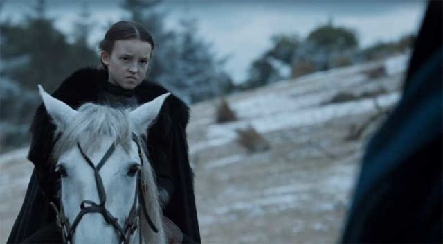 A Round of Applause, Please, for Lyanna Mormont in the 'Game of Thrones' Season Six Finale