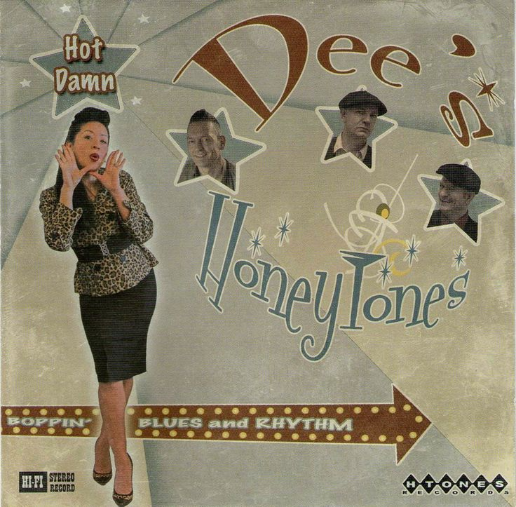 Dee's Honeytones from Holland ! CD