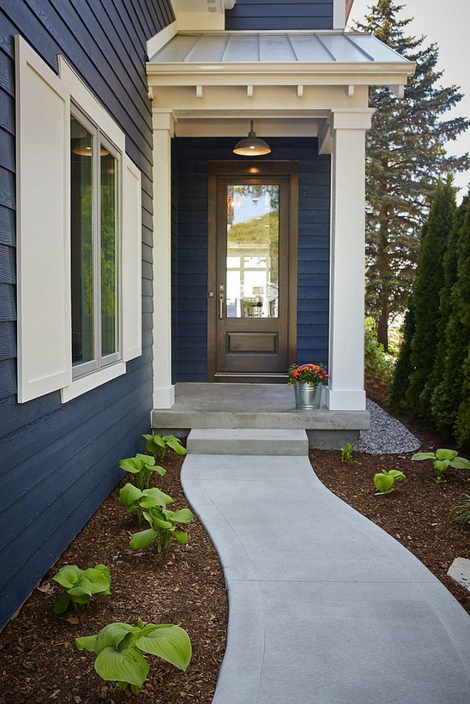 To achieve this hue  a first coat of  Benjamin Gentleman s Gray  is applied  and then  Benjamin Moore Hale Navy  is applied  Exterior trim and shutters  paint  Best 25  Exterior concrete paint ideas on Pinterest   Concrete  . Paint Exterior Door Or Trim First. Home Design Ideas