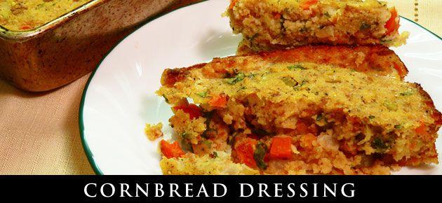 Homemade Cornbread Dressing : Taste of Southern