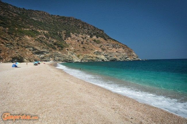 Greece, Euboea (Evia), Giannitsi Beach