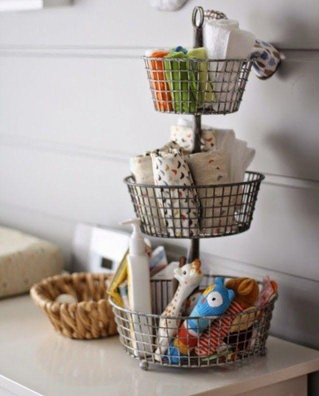 Nursery Organization Tips { Really Smart Ones }