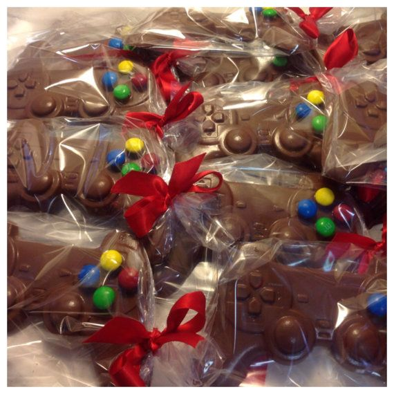Chocolate Video Game Controller Grand Theft by JustMoreChocolate