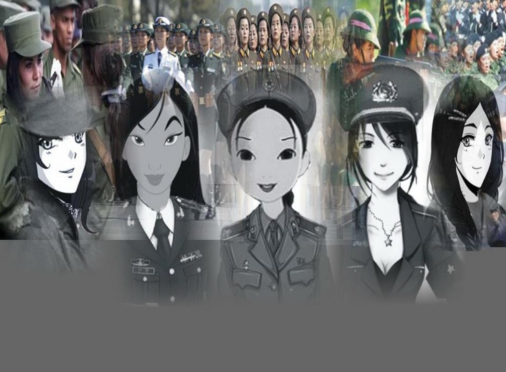Daughters of the People; your motherlands call!  Queenie Marie - Revolutionary Army of Cuba  ( Fuerzas Armadas Revolucionarias) Twinkle Xianxiu- People's Liberation Army  (Zhōngguó Rénmín Jiěfàngjūn) Analiza Anja- Korean People's Army (Chosŏn inmin'gun) Geraldine- Vietnam People's Army (Quân Đội Nhân Dân Việt Nam) Jessa- Mexican Army (Fuerzas Armadas de Mexico