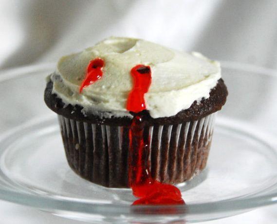 super simple vampire bite cupcakes your kids will love them
