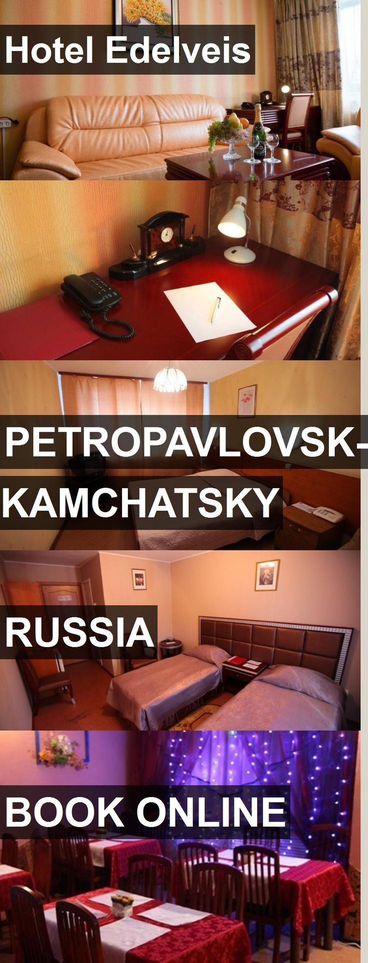 Hotel Hotel Edelveis in Petropavlovsk-Kamchatsky, Russia. For more information, photos, reviews and best prices please follow the link. #Russia #Petropavlovsk-Kamchatsky #HotelEdelveis #hotel #travel #vacation
